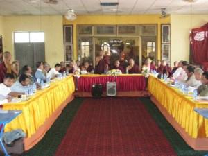 မွန် ၂ ပါတီပေါင်းစည်းရေး ဆွေးနွေးခဲ့စဉ်(MNA)