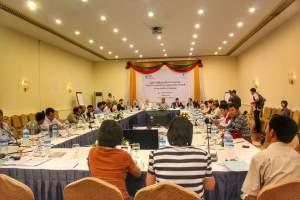 NCA လက်မှတ်ထိုးအဖွဲ့များ နိုင်ငံရေးအလုပ်ရုံဆွေးနွေးပွဲ(MNA)