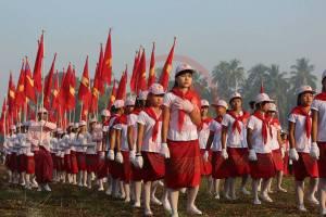 မွန်လူငယ်များနေ့အခမ်းအနားစစ်ကြောင်း(MNA)