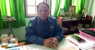 မွန်ပြည်နယ် စည်ပင်သာယာရေးအဖွဲ့ညွှန်ကြားရေးမှူး ဦးမြင့်အောင်နှင့်တွေ့ဆုံခြင်း