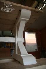 x dinging table white base 7