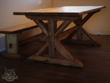 x dining table brown 3