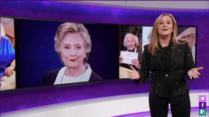 Samantha Bee on Full Frontal.