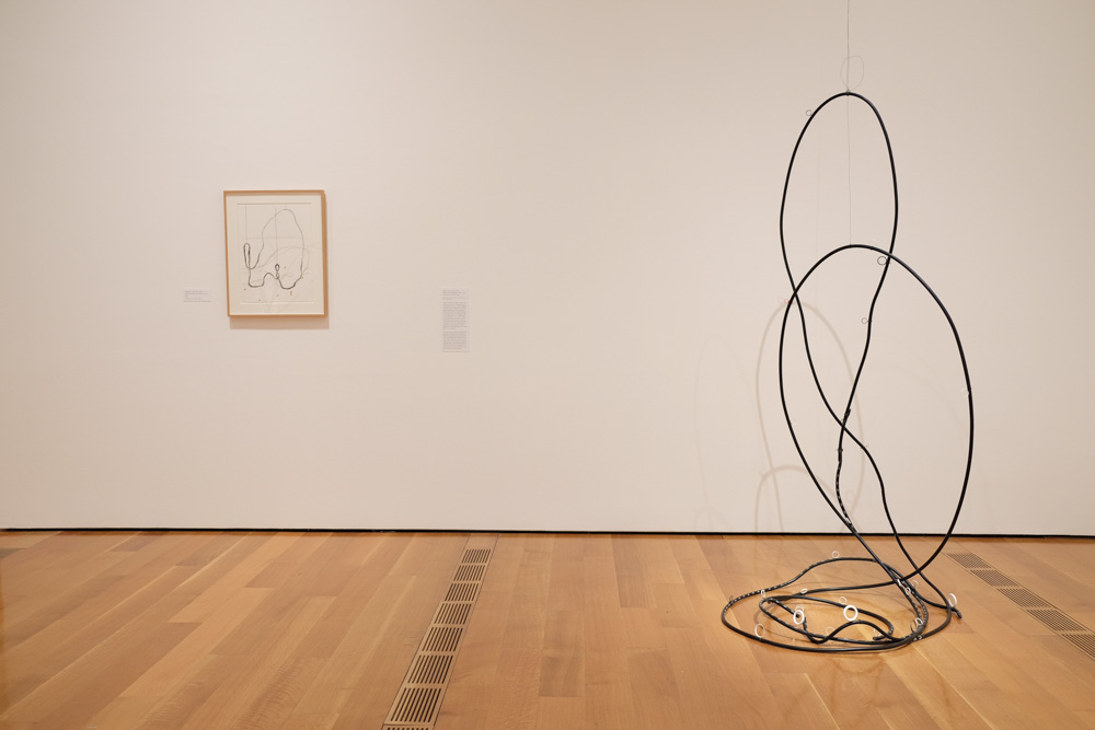 Installation view of Al Taylor works at the High Museum.