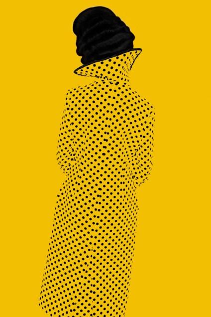 Erik Madigan Heck, Without a Face (Yellow), 2013; chromogenic print.