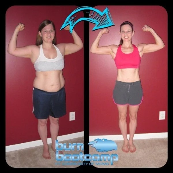 Becky Huff Burn Bootcamp Cornelius Weight Loss Story