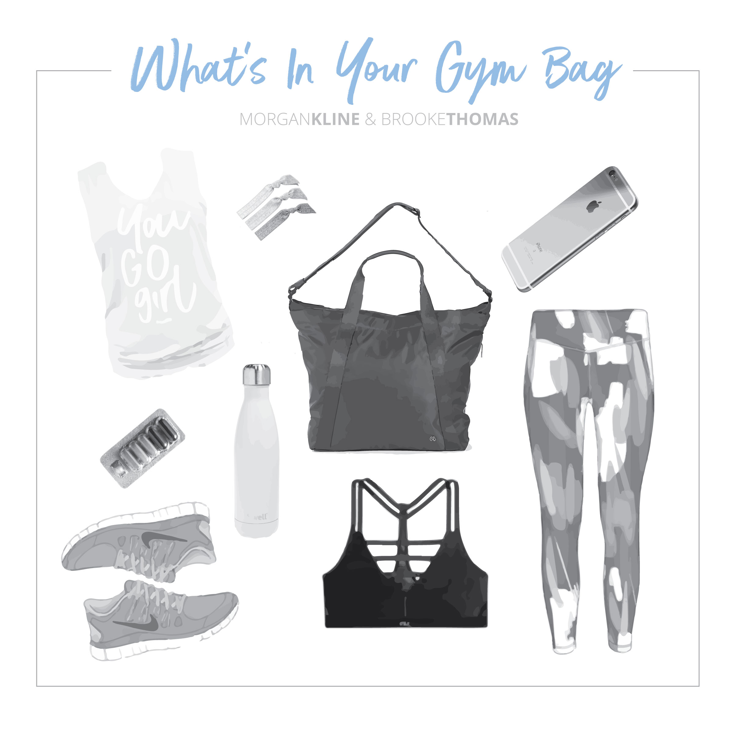 Morgan Kline Gym Bag