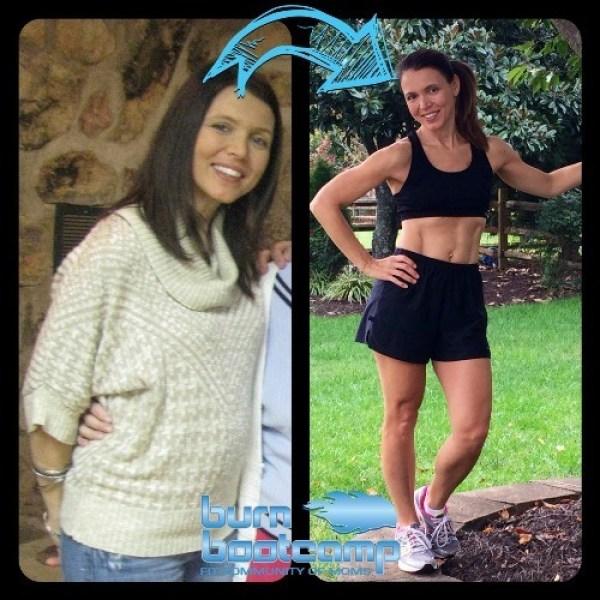 Tina Johnson Burn Bootcamp Cornelius Weight Loss Story