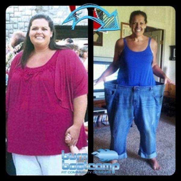 Brandi Parker Burn Bootcamp Huntersville Weight Loss Story