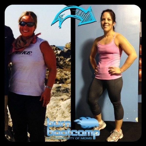 Carolynn Pierce Burn Bootcamp Huntersville Weight Loss Story