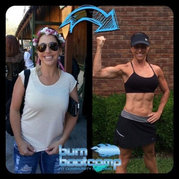 Dana Staz Burn Bootcamp Huntersville Weight Loss Story