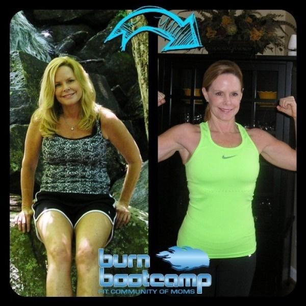 Kelly Dunn Burn Bootcamp Huntersville Weight Loss Story
