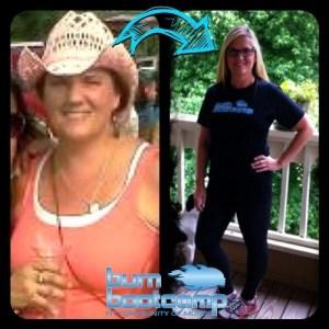 Kathy Stallard Burn Bootcamp Huntersville Weight Loss Story