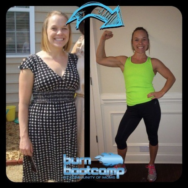 Mandy Noonan Burn Bootcamp Huntersville Weight Loss Story