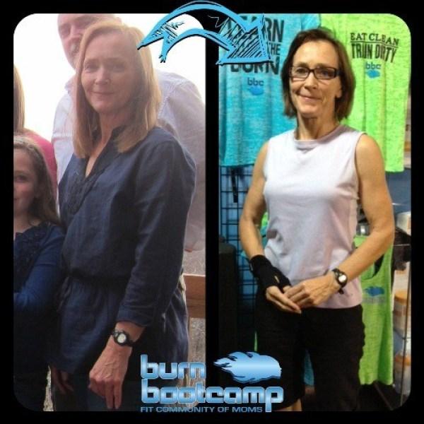 Mel Leiber Burn Bootcamp Huntersville Weight Loss Story