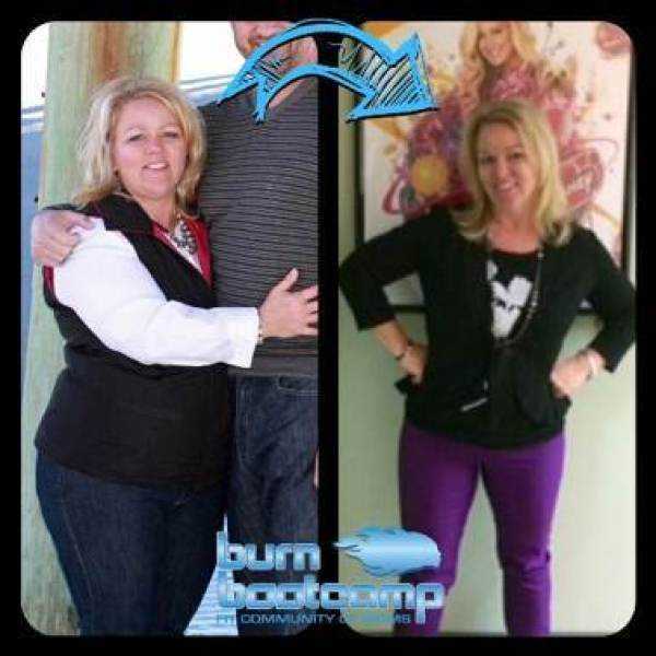 Traci Dudan Burn Bootcamp Huntersville Weight Loss Story
