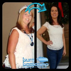 Amy Collins Burn Bootcamp Mooresville Weight Loss Story