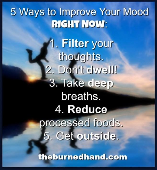 5 Ways to improve mood