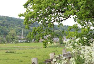 callander landscape with kirk
