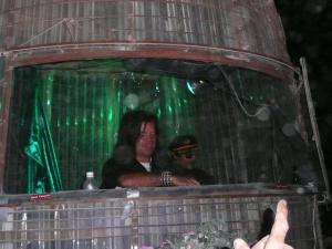 DJ Paul Oakenfold at the Green Man, Burning Man 2007