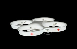 red cross drone