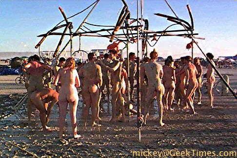 Beerfest Sexy Gang Bang Burning Man