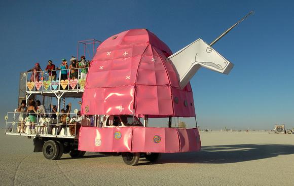 Charlie the Unicorn art car