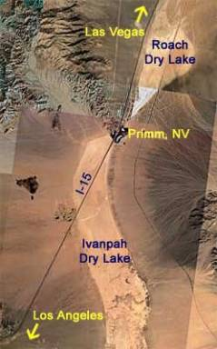 Ivanpah Dry Lake Bed