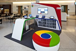 The Chrome Zone, Google's new move into retail