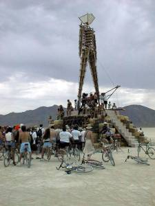 Burning Man was a bit smaller in 1998