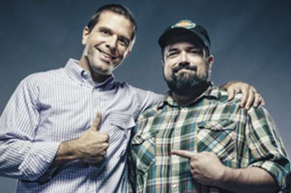 Josh and Chuck -- PHOTO: SYSK