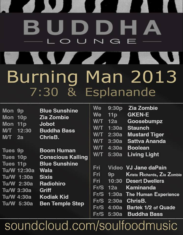 Latest 2013 Music Line-up [Updates] | Burners Me: Me