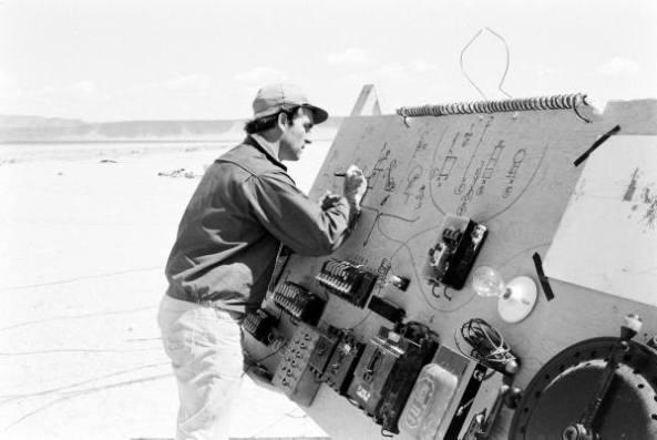 Jean Tinguely at the control panel, 1962 -- PHOTO: LIFE Magazine