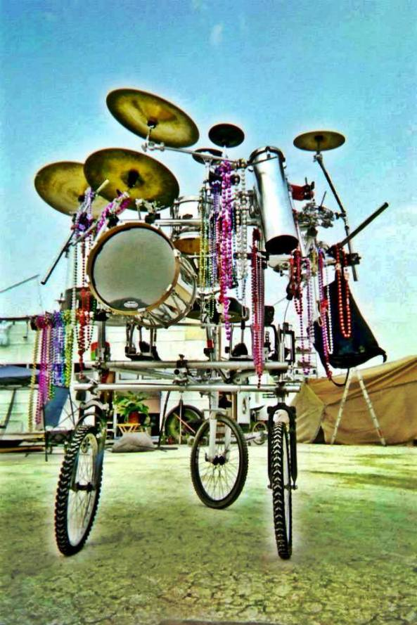 bicycle drumkit by Nathan Wilson