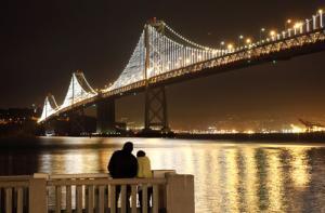 bay lights romance