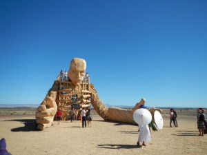 Big Art at Afrika Burn