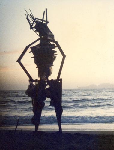 satan man 1986 baker beach