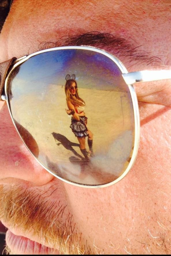 2014 playa reflection girl