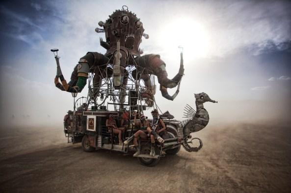 El Pulpo Mecanico. image: Oliver Fluck