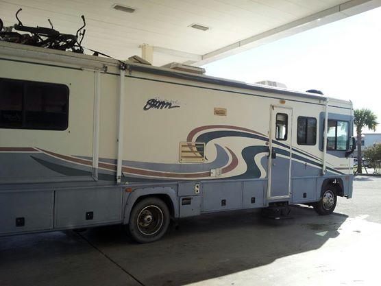 I bought my RV on eBay for $19,000. And we still take dumps in the portapotties.