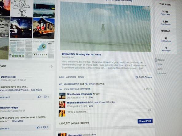 1 million on facebook