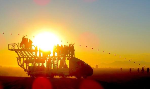 Playa One at sunset. Image: James Santos/Facebook