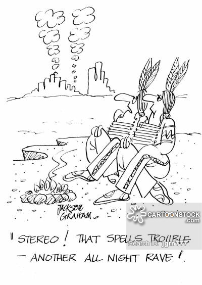 """""""Stereo! That spells trouble - another all night rave!"""""""