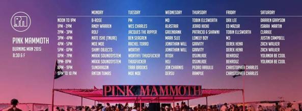 2015 pink mammoth