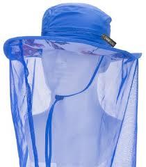 camo coil mosquito hat