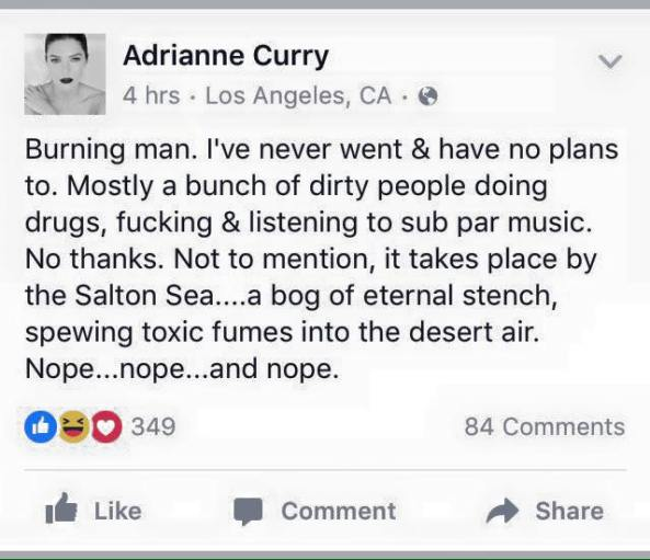 adrianne curry burning man