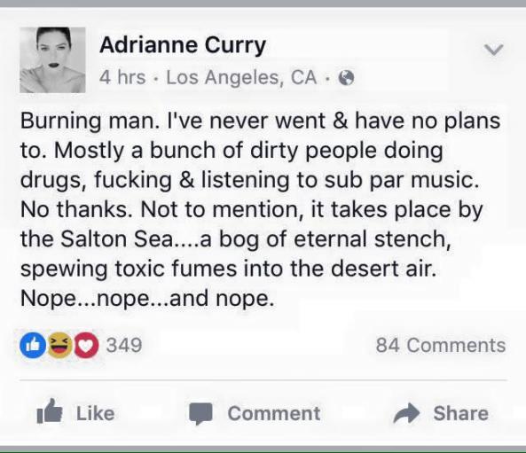 adrianne curry burning man