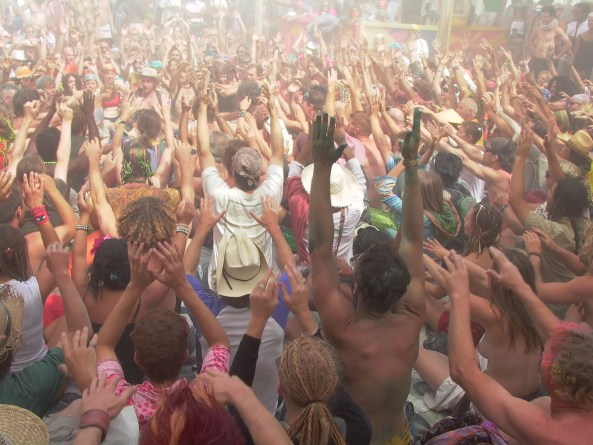 Kecak, or Balinese Monkey Chant, Burning Man, 2005