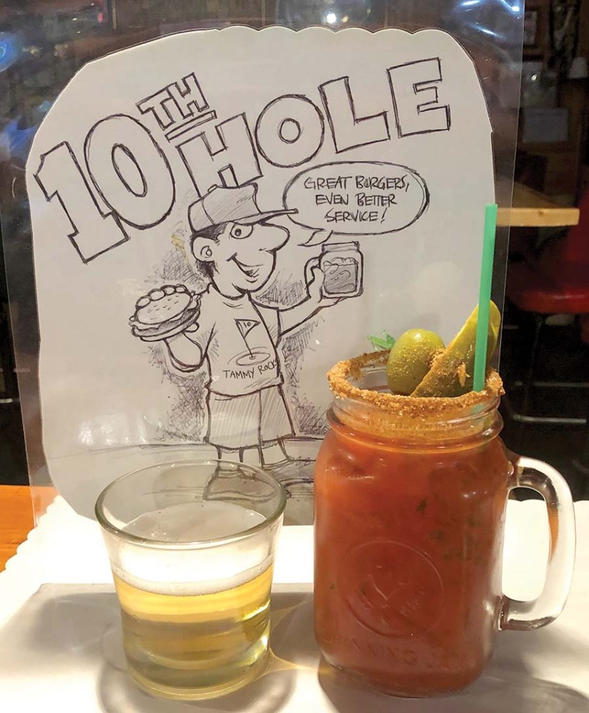 10th Hole Bar & Grill, Danbury, WI