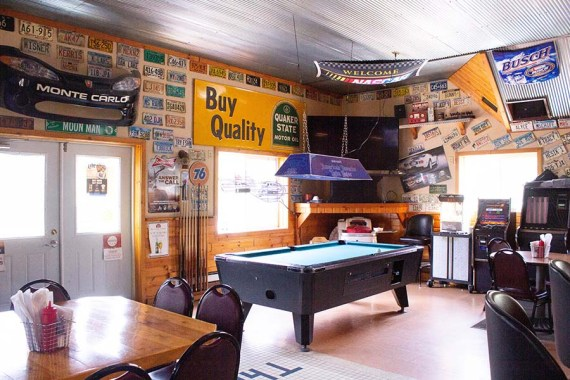 The Shop Bar & Grill, A&H, Burnett County, WI